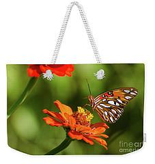 Gulf Fritillary Butterfly Weekender Tote Bag