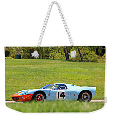 Gulf Mirage Ford Gt40 Weekender Tote Bag