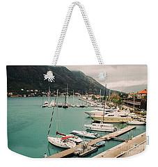 Gulf Of Kotor Weekender Tote Bag