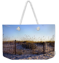 Weekender Tote Bag featuring the photograph Gulf Shores Beach by Beth Vincent