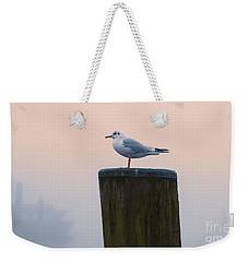 Gull And Fog Weekender Tote Bag