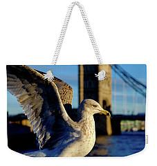 Gull At Tower Bridge Weekender Tote Bag