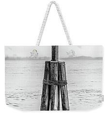 Gull In New York Harbor Weekender Tote Bag