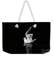 Gull On The Water Weekender Tote Bag by Michal Boubin