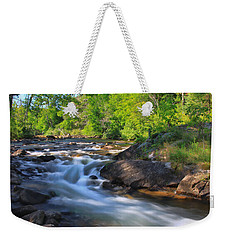 Gull River Falls - Gunflint Trail Minnesota Weekender Tote Bag