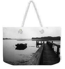 Gullah Coast Bateau Bw Weekender Tote Bag