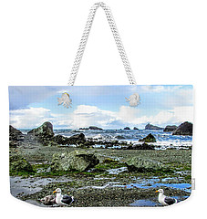Gulls Weekender Tote Bag by Marilyn Diaz