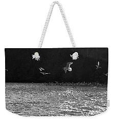 Gulls On The River Weekender Tote Bag