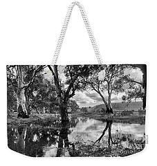 Weekender Tote Bag featuring the photograph Gum Creek by Douglas Barnard