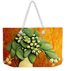Gumnuts Still Life Weekender Tote Bag