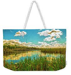 Gunnel Oval By Paint Weekender Tote Bag