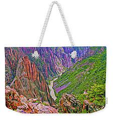 Gunnison River Weekender Tote Bag