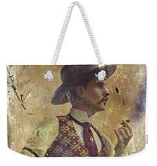 Gunslinger IIi Doc Holliday In Fine Attire Weekender Tote Bag