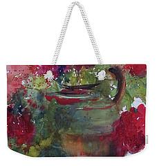 Gurko Geraniums Weekender Tote Bag