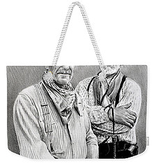 Gus And Woodrow Weekender Tote Bag