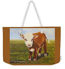 Gus, Cow Weekender Tote Bag