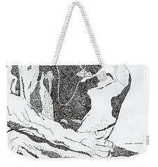 Guy Weekender Tote Bag