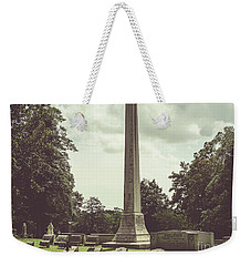 Gwaltney Monument In Smithfield Va Weekender Tote Bag by Melissa Messick