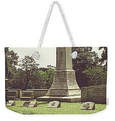 Gwaltney Monument In Smithfield Virginia Weekender Tote Bag by Melissa Messick