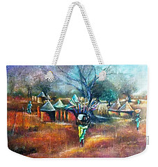 Gwari Village In Abuja Nigeria Weekender Tote Bag