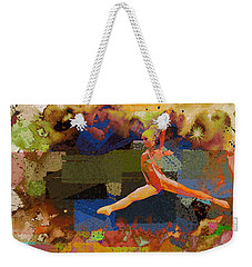 Gymnast Girl Weekender Tote Bag