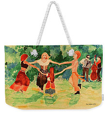 Gypsies Dancing Weekender Tote Bag