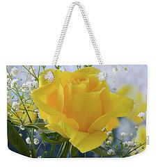 Gypsophila And The Rose. Weekender Tote Bag