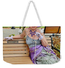 Gypsy In Central Park Weekender Tote Bag