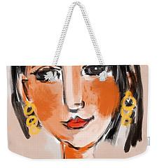 Gypsy Lady Weekender Tote Bag by Elaine Lanoue