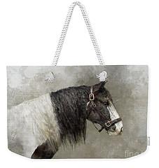 Gypsy Vanner Weekender Tote Bag by Kathy Russell