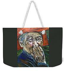 H A P P Y Weekender Tote Bag by Belinda Low