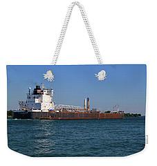 H. Lee White Weekender Tote Bag