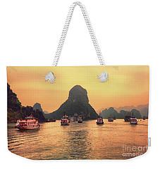 Ha Long Bay Cruises  Weekender Tote Bag