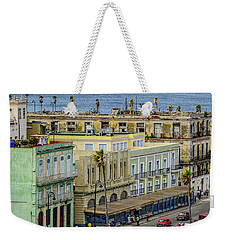 Weekender Tote Bag featuring the photograph Habana Havana  by Steven Sparks