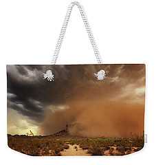 Weekender Tote Bag featuring the photograph Haboob Is Coming by Rick Furmanek