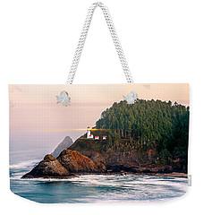 Haceta Head Light Weekender Tote Bag by Todd Klassy