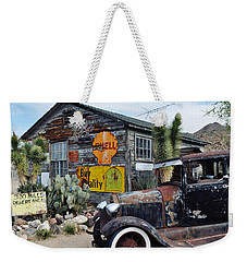 Hackberry Route 66 Auto Weekender Tote Bag by Kyle Hanson