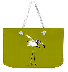 Weekender Tote Bag featuring the digital art Haggard by Asok Mukhopadhyay