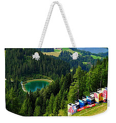 Hahnenkamm - Kitzbuehel Weekender Tote Bag