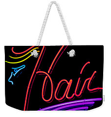 Hair In Neon Weekender Tote Bag