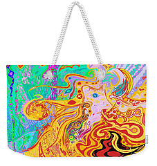 Hair Of The Divine Universe Weekender Tote Bag