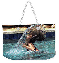Hair Toss Weekender Tote Bag