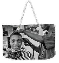 Haircut At Joe's Weekender Tote Bag