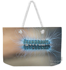 Hairy Weekender Tote Bag by Jivko Nakev