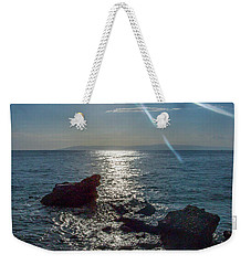 Haitian Beach In The Late Afternoon Weekender Tote Bag