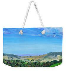 Haldon Hills Sea View Weekender Tote Bag