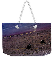 Weekender Tote Bag featuring the photograph Haleakala 2 by M G Whittingham