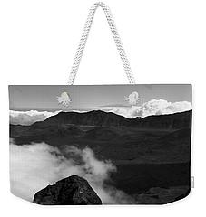 Haleakala B/w Weekender Tote Bag