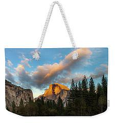 Half Dome Sunset Glow Weekender Tote Bag