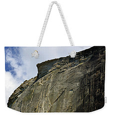 Half Dome With A View Of The Visor  Weekender Tote Bag